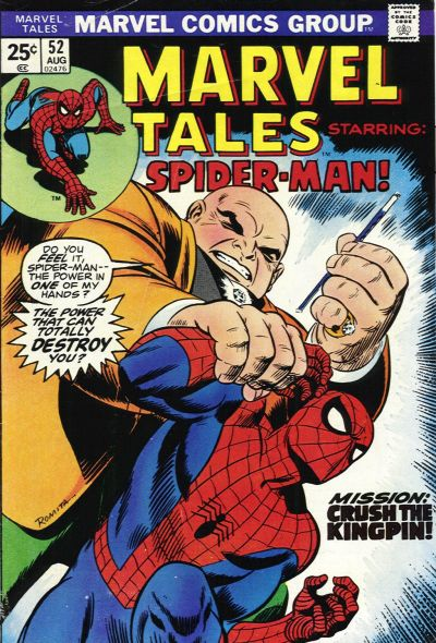 Marvel Tales 52 - Mission: Cush the Kingpin!