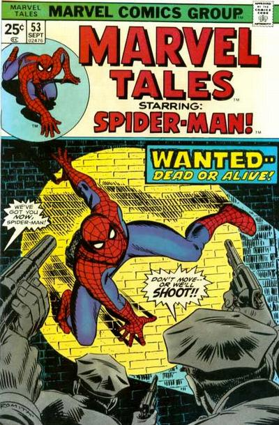 Marvel Tales 53 - Spider-man Wanted