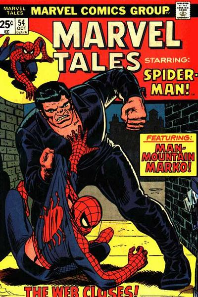 Marvel Tales 54 - The Web Closes!