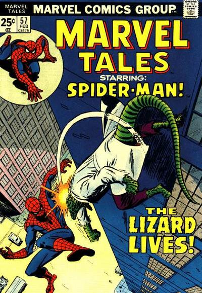 Marvel Tales 57 - The Lizard Lives