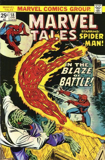 Marvel Tales 58 - In the Blaze of Battle