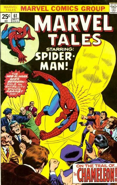Marvel Tales 61 - On the Trail of the Chameleon!