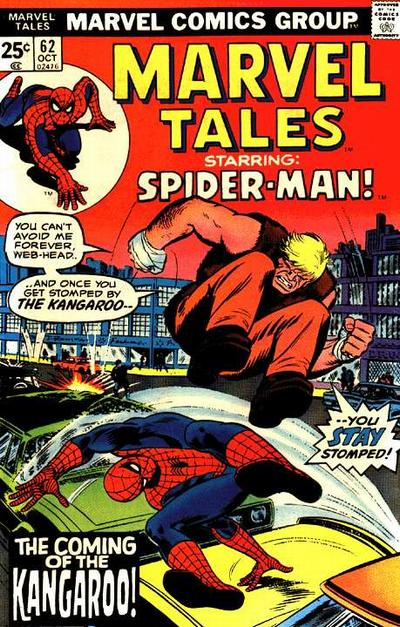 Marvel Tales 62 - The Coming of the Kangaroo