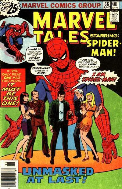 Marvel Tales 68 - Unmasked At Last