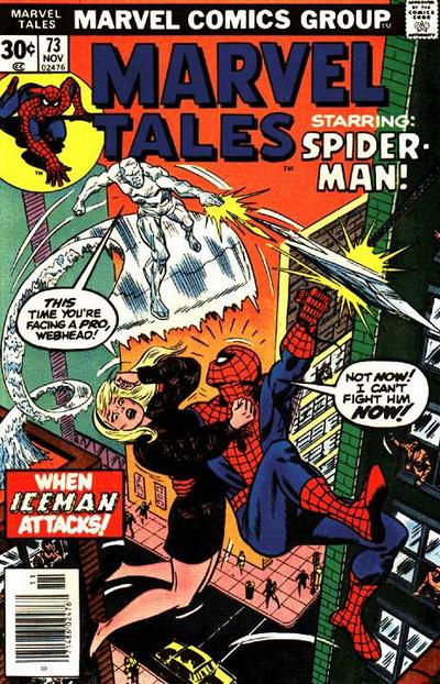 Marvel Tales 73 - When Iceman Attacks