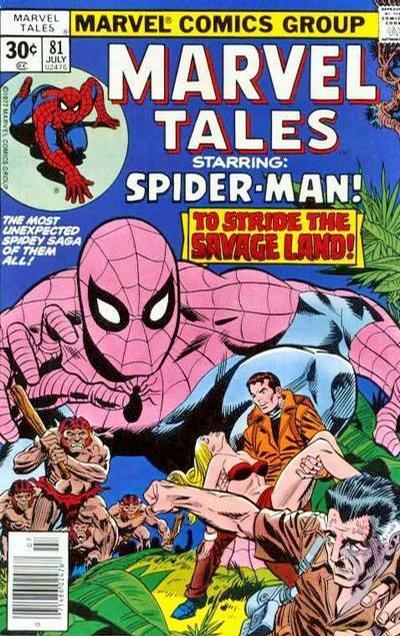 Marvel Tales 81 - Walk The Savage Land