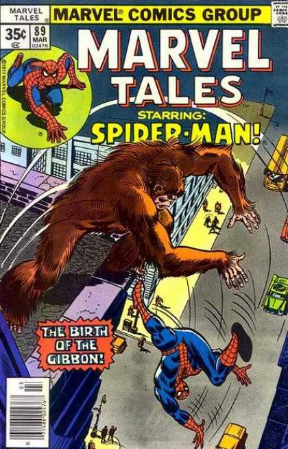 Marvel Tales 89 - The Birth of the Gibbon
