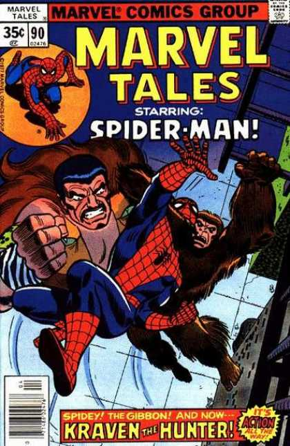 Marvel Tales 90 - To Stalk to a Spider
