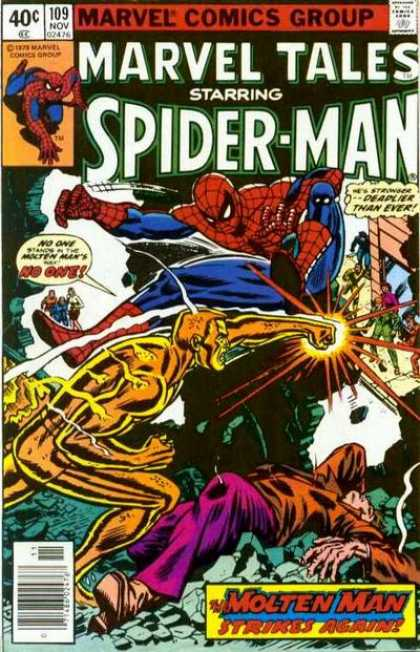 Marvel Tales 109 - The Master Plan of the Molten Man