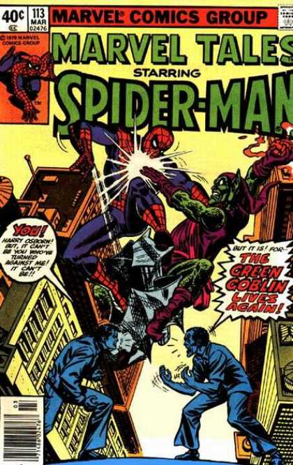 Marvel Tales 113 - The Green Goblin Lives Again!