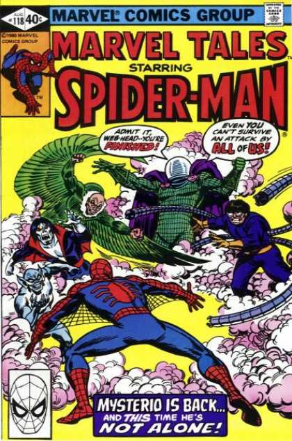 Marvel Tales 118 - The Man's Name Appears to Be...Mysterio!