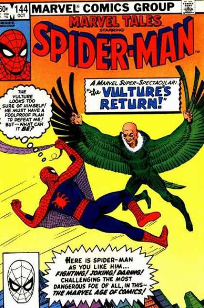 Marvel Tales 144 - The Return of the Vulture