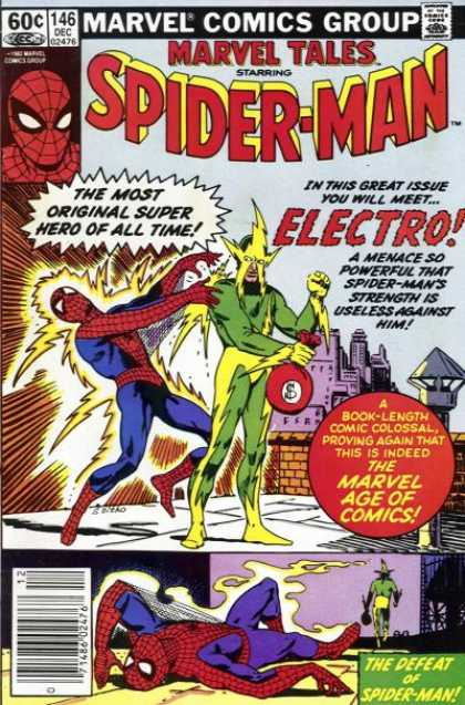Marvel Tales 146 - The Man Called Electro!