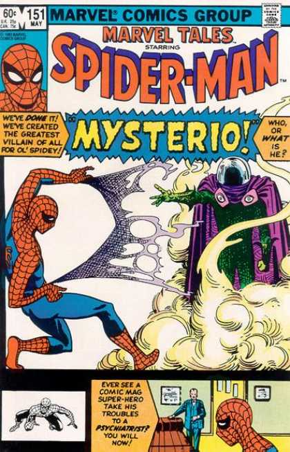Marvel Tales 151 - The Menance of Mysterio!