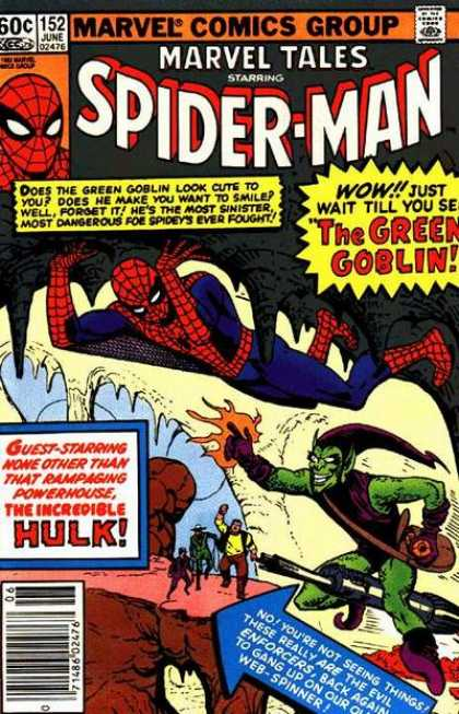 Marvel Tales 152 - The Grotesque Adventure of the Green Goblin