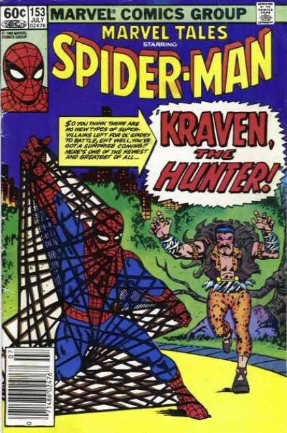 Marvel Tales 153 - Kraven the Hunter!
