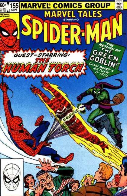 Marvel Tales 155 - The Return of the Green Goblin!