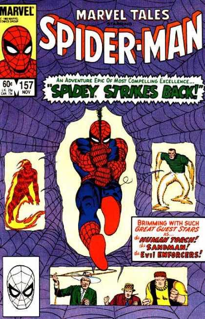 Marvel Tales 157 - Spidey Strikes Back!