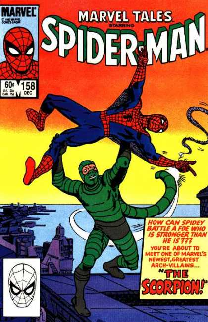Marvel Tales 158 - The Coming of the Scorpion!