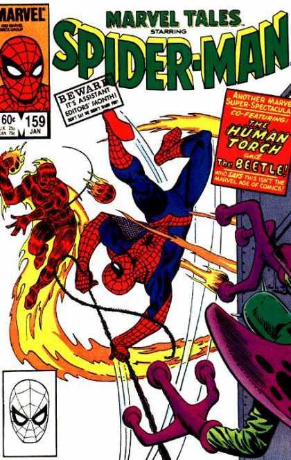Marvel Tales 159 - Where Flies the Beetle...!