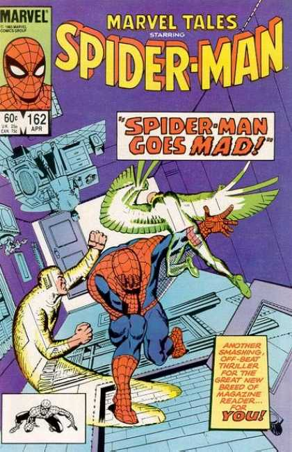 Marvel Tales 162 - Spide-man Goes Mad!