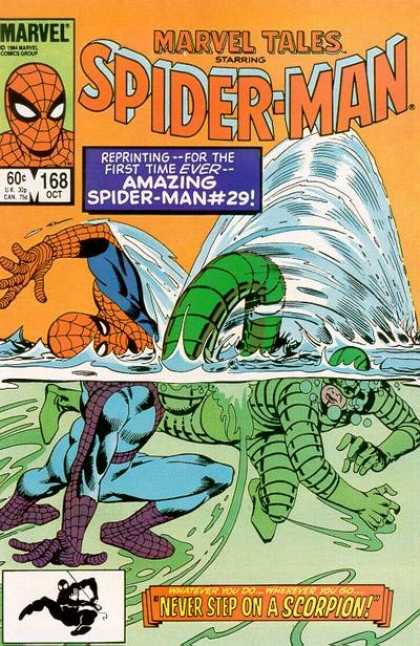 Marvel Tales 168 - Never Step on A Scorpion