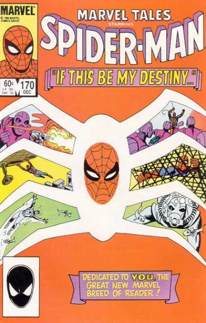 Marvel Tales 170 - If This Be My Destiny...!