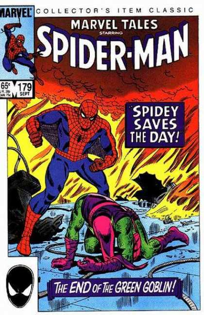 Marvel Tales 179 - Spidey Saves The Day!