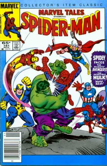 Marvel Tales 181 - ...To Become an Avenger!