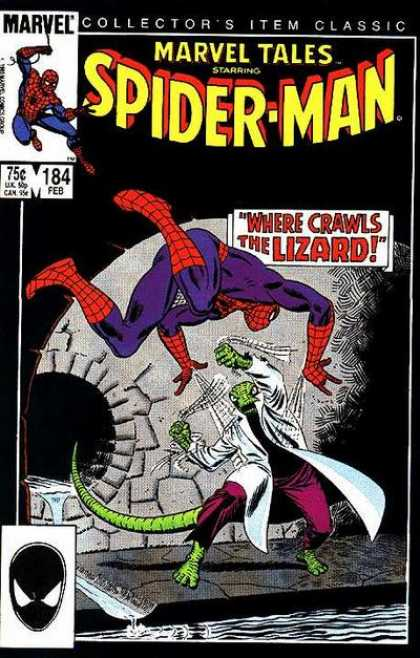 Marvel Tales 184 - Where Crawls the Lizard!