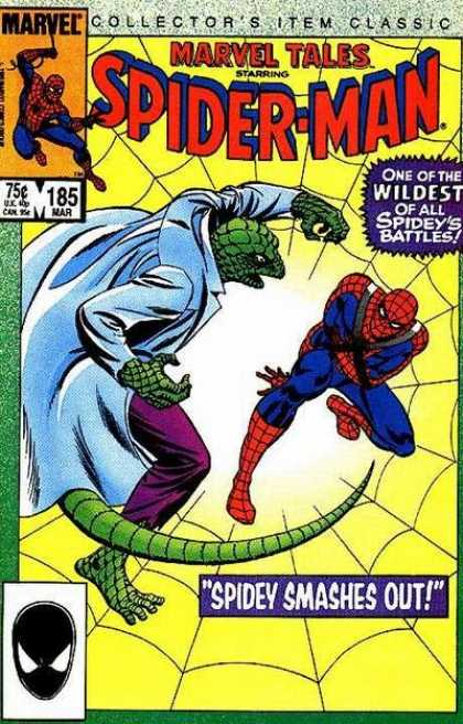 Marvel Tales 185 - Spidey Smashes Out