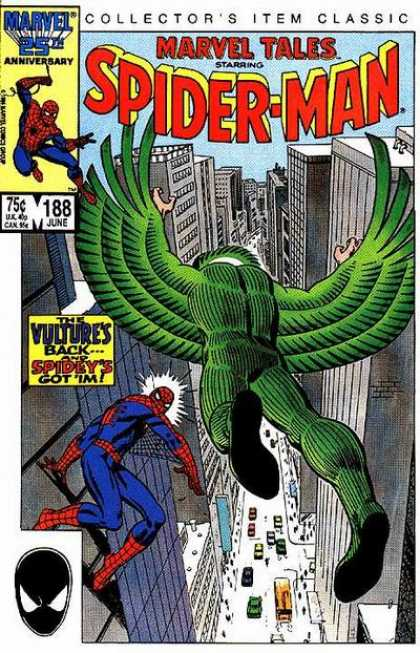 Marvel Tales 188 - The Wings of the Vulture!
