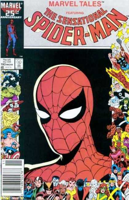 Marvel Tales 193 - Some Say Spidey Will Die by Fire