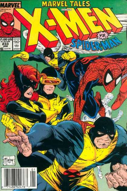 Marvel Tales 233 - Along Came a Spider...