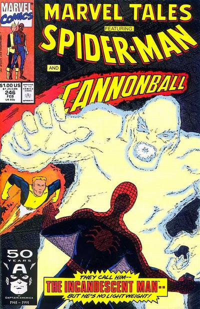 Marvel Tales 246 - The Incandescent Man