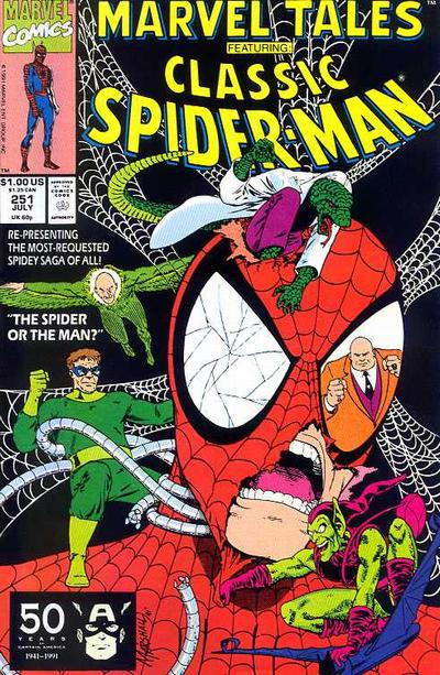 Marvel Tales 251 - The Spider or the Man?