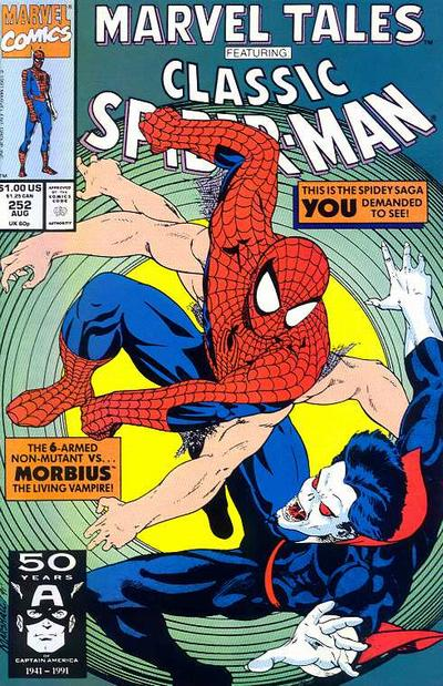 Marvel Tales 252 - A Monster Called...Morbius!