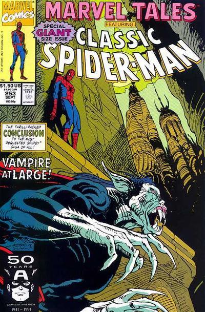 Marvel Tales 253 - Vampire at Large