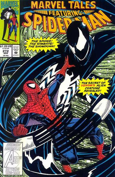 Marvel Tales 272 - The Sinister Secrets of Spider-Man's New Costume!