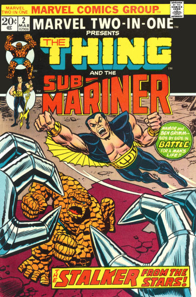 Marvel Two-In-One 2 - Manhunters from the Stars!