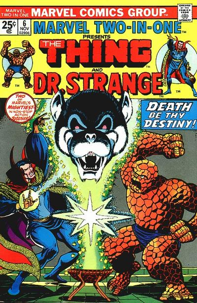 Marvel Two-In-One 6 - Death-Song of Destiny!