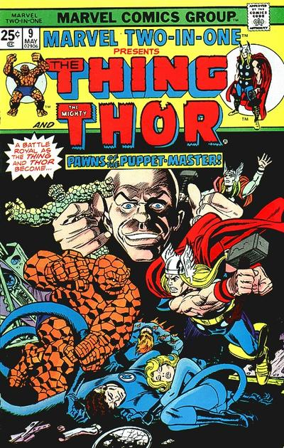 Marvel Two-In-One 9 - When A God Goes Mad!