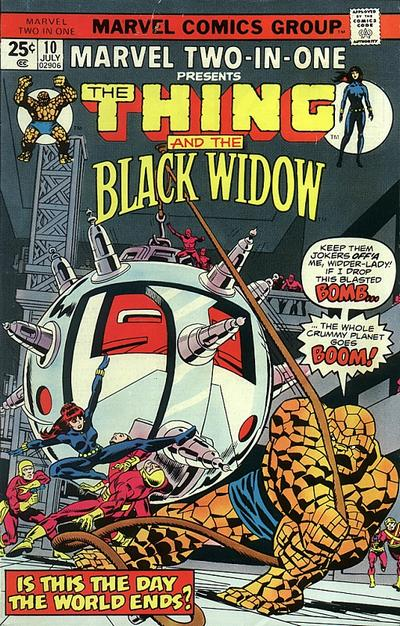 Marvel Two-In-One 10 - Is This The Day The World Ends?