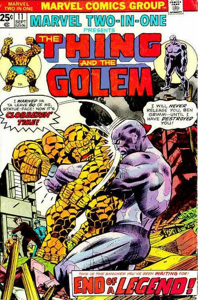 Marvel Two-In-One 11 - The Thing Goes South!