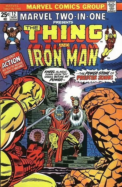 Marvel Two-In-One 12 - The Stalker In the Sands!