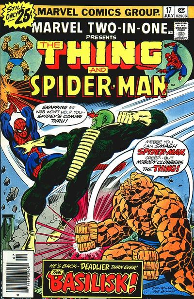 Marvel Two-In-One 17 - This City-- Afire!