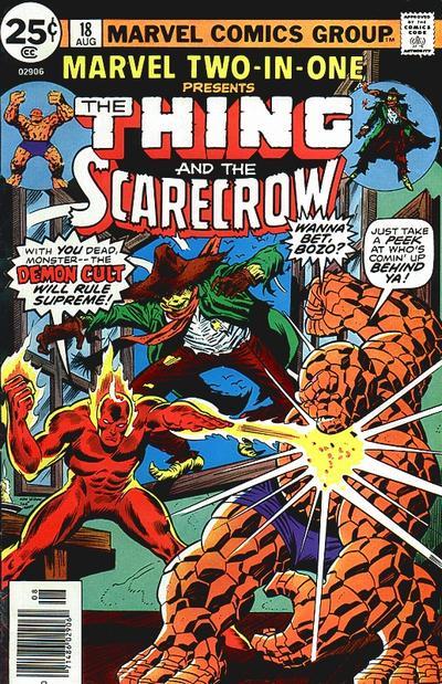 Marvel Two-In-One 18 - Dark, Dark Demon Night!