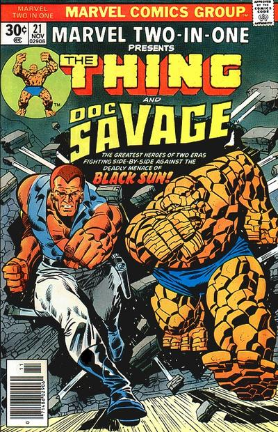 Marvel Two-In-One 21 - Black Sun Lives!