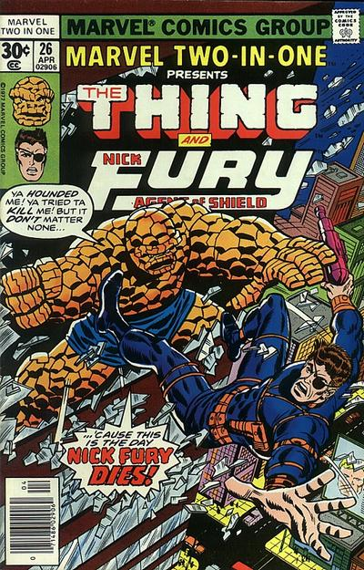 Marvel Two-In-One 26 - The Fixer and Mentallo Are Back and the World Will Never Be ...