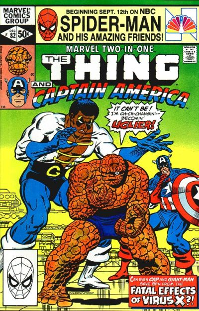 Marvel Two-In-One 82 - The Fatal Effects of Virus X!